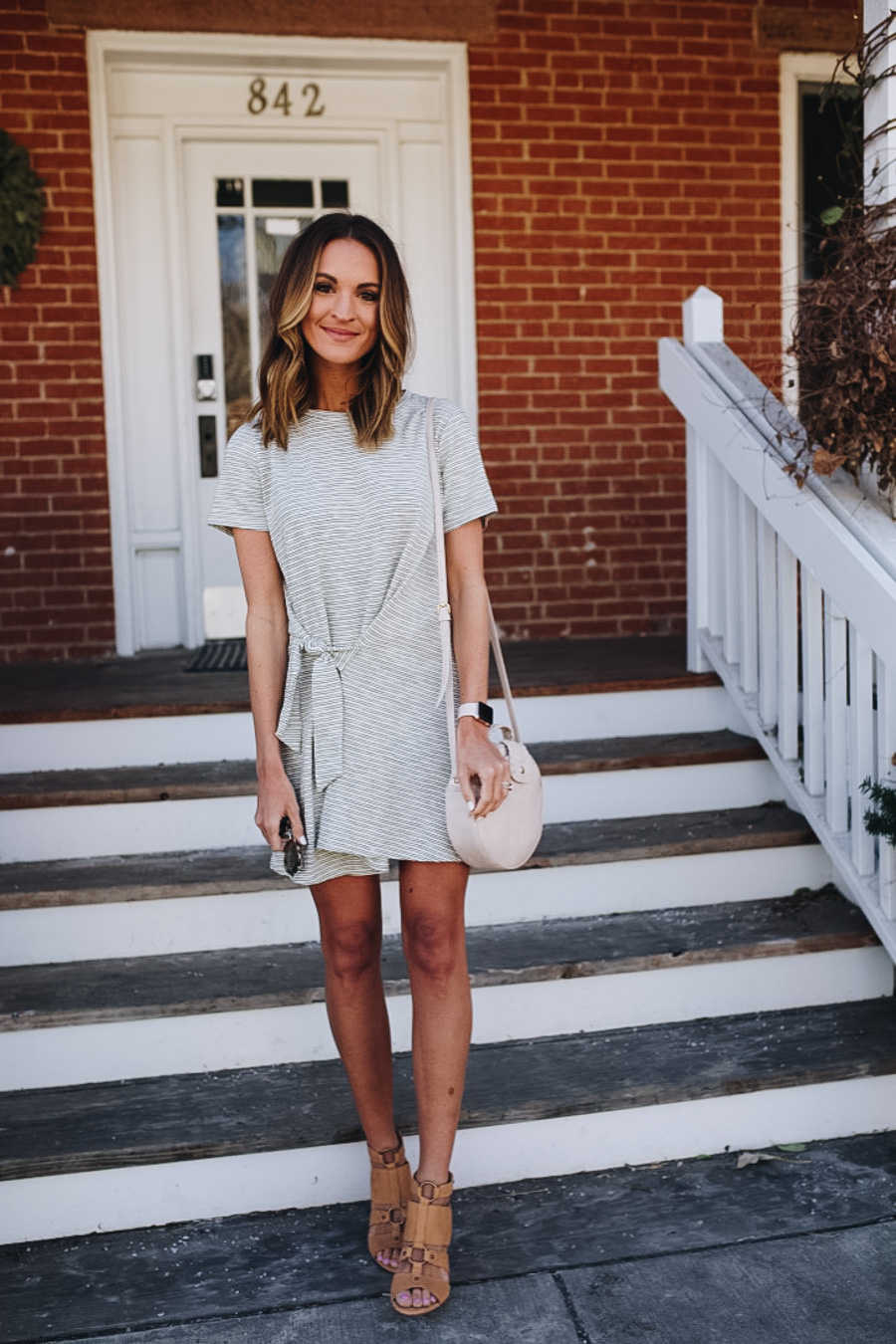 lauren sims striped dress
