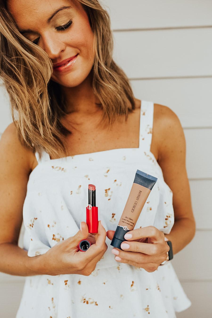 lauren sims summer makeup look