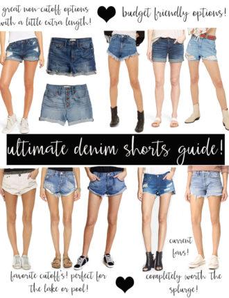 denim short guide!