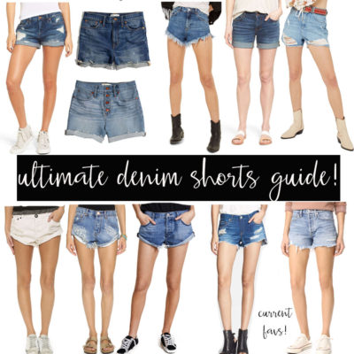 denim short guide!