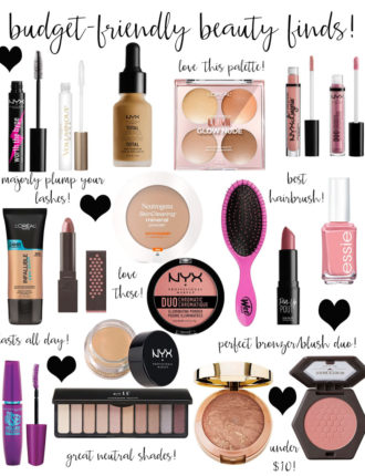 lauren sims budget friendly beauty