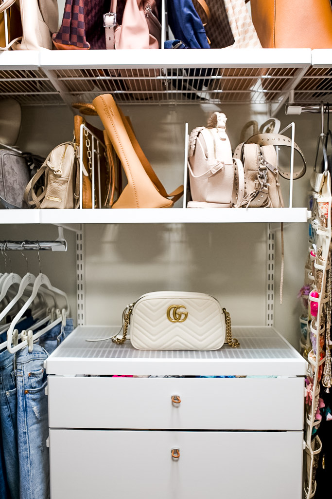 lauren sims container store elfa closet