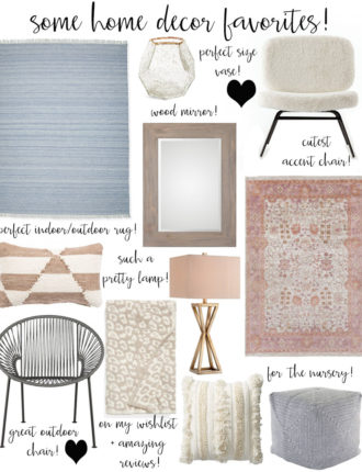 lauren sims home decor favorites