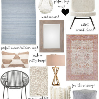 home decor pieces I'm loving!
