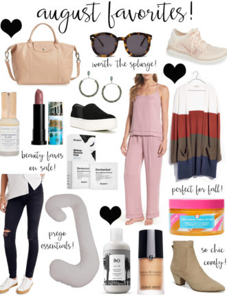 monthly favorites: august edition!