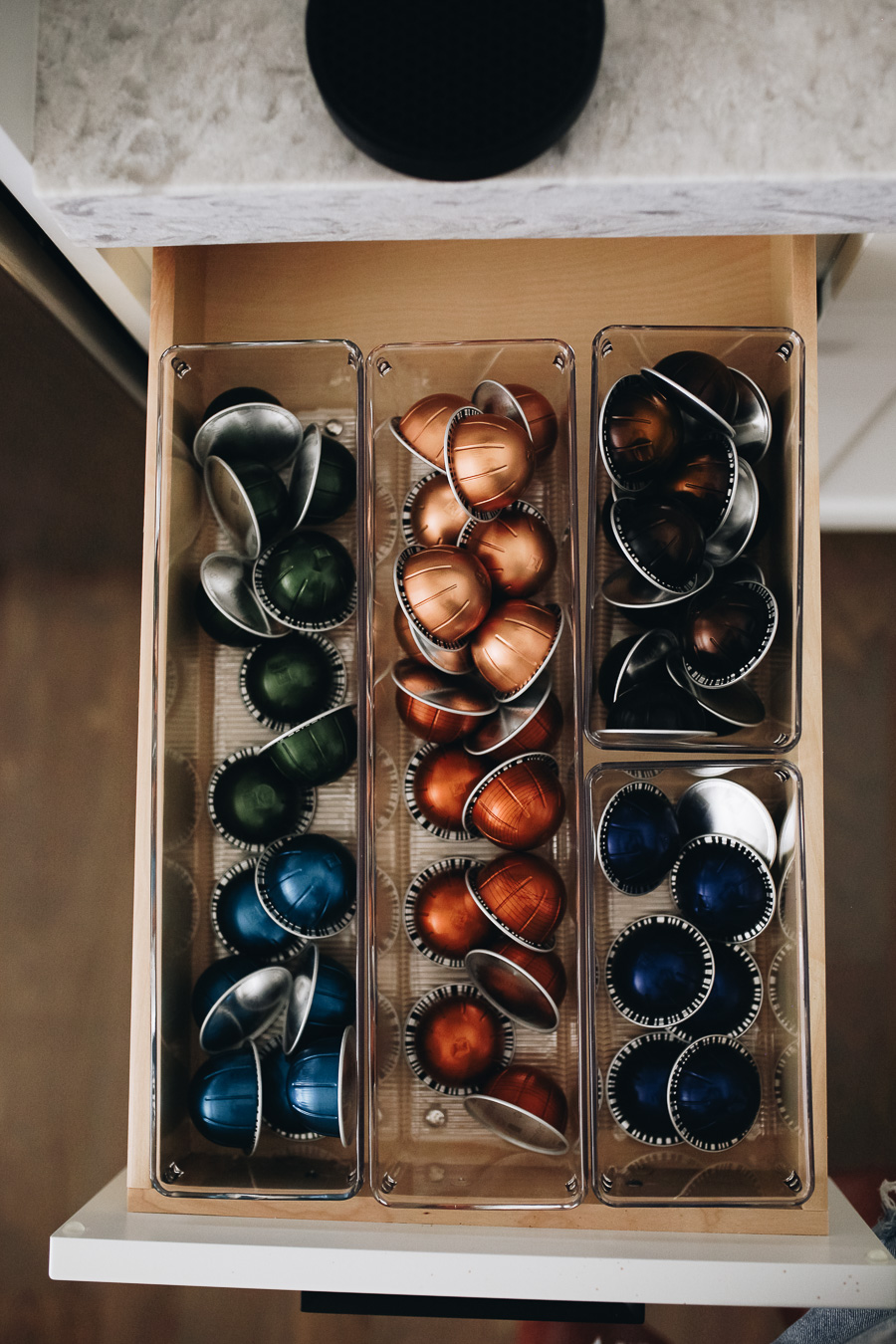 lauren sims kitchen organization tips