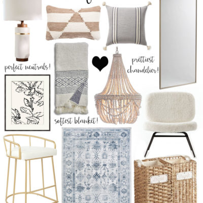 recent home decor faves!