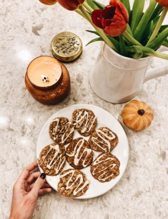 lauren sims apple cinnamon oatmeal cookies