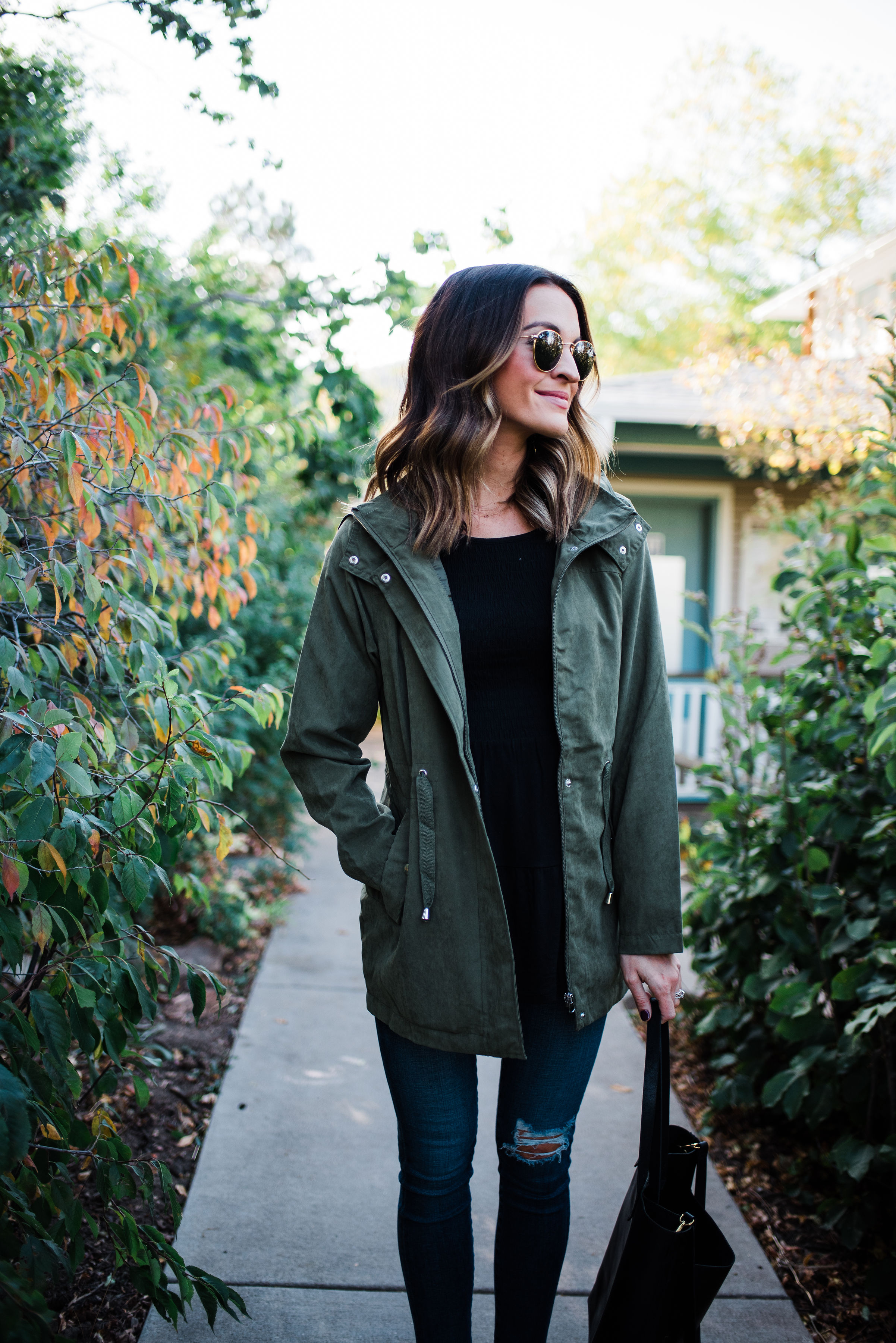 lauren sims utility jacket