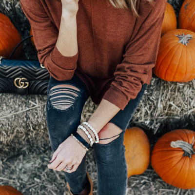 adding some flare to fall neutrals