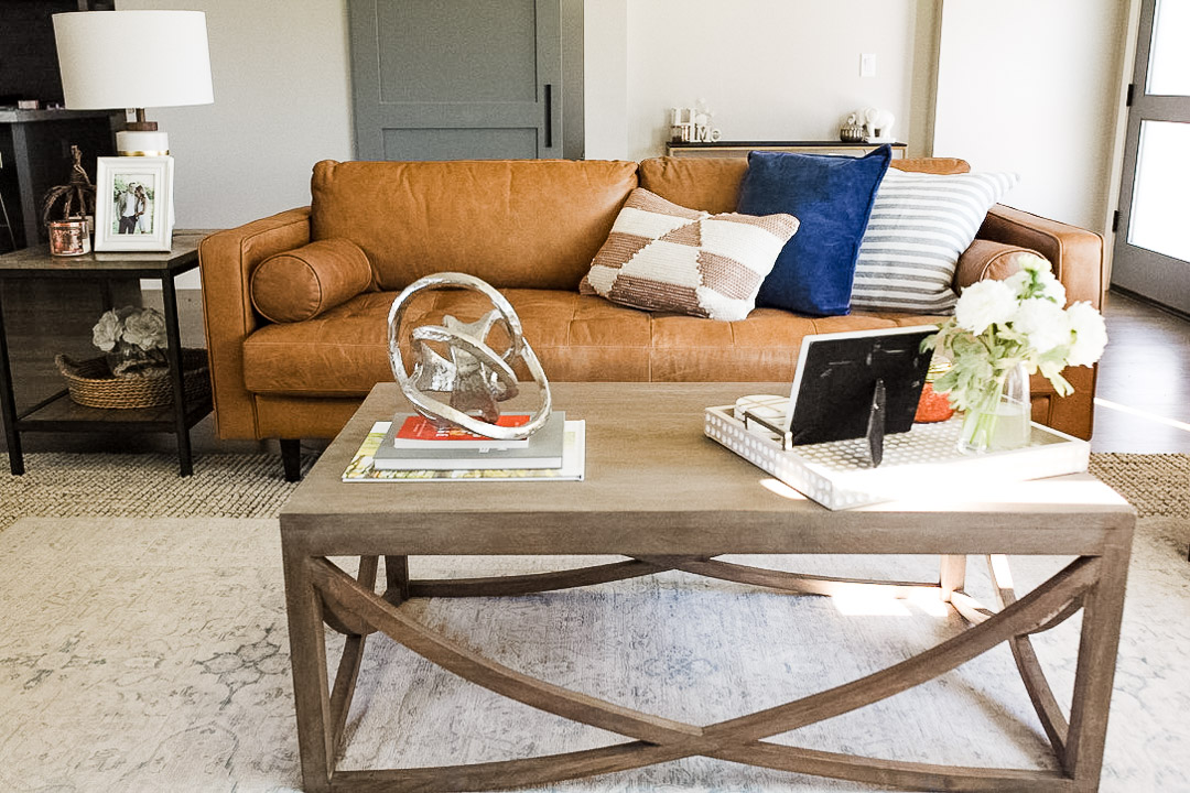 lauren sims modern farmhouse living room