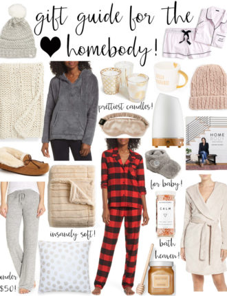 gift ideas for the homebody!
