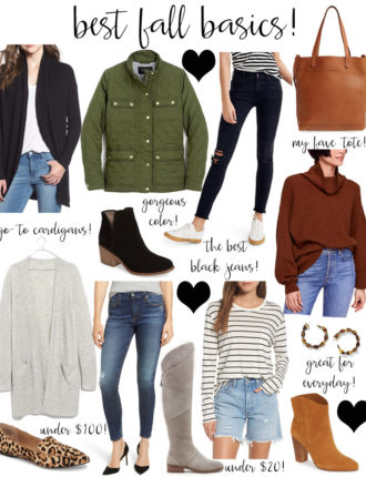 lauren sims best fall basics