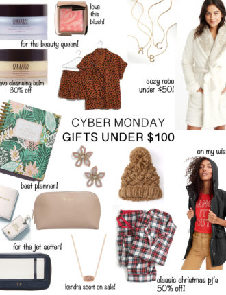 best cyber monday sales + gifts under $100