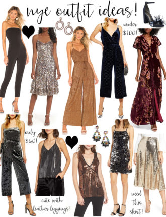new year's eve outfit ideas!
