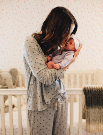 new pj's i'm loving + gift ideas for new moms