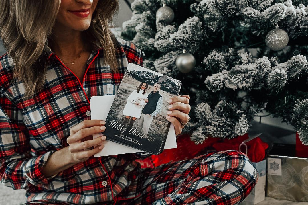 lauren sims family christmas cards