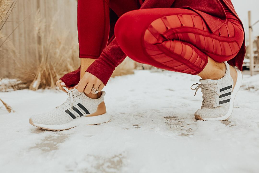lauren sims adidas ultraboost sneakers
