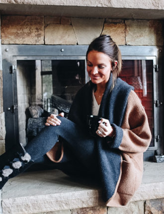 lauren sims cozy loungewear