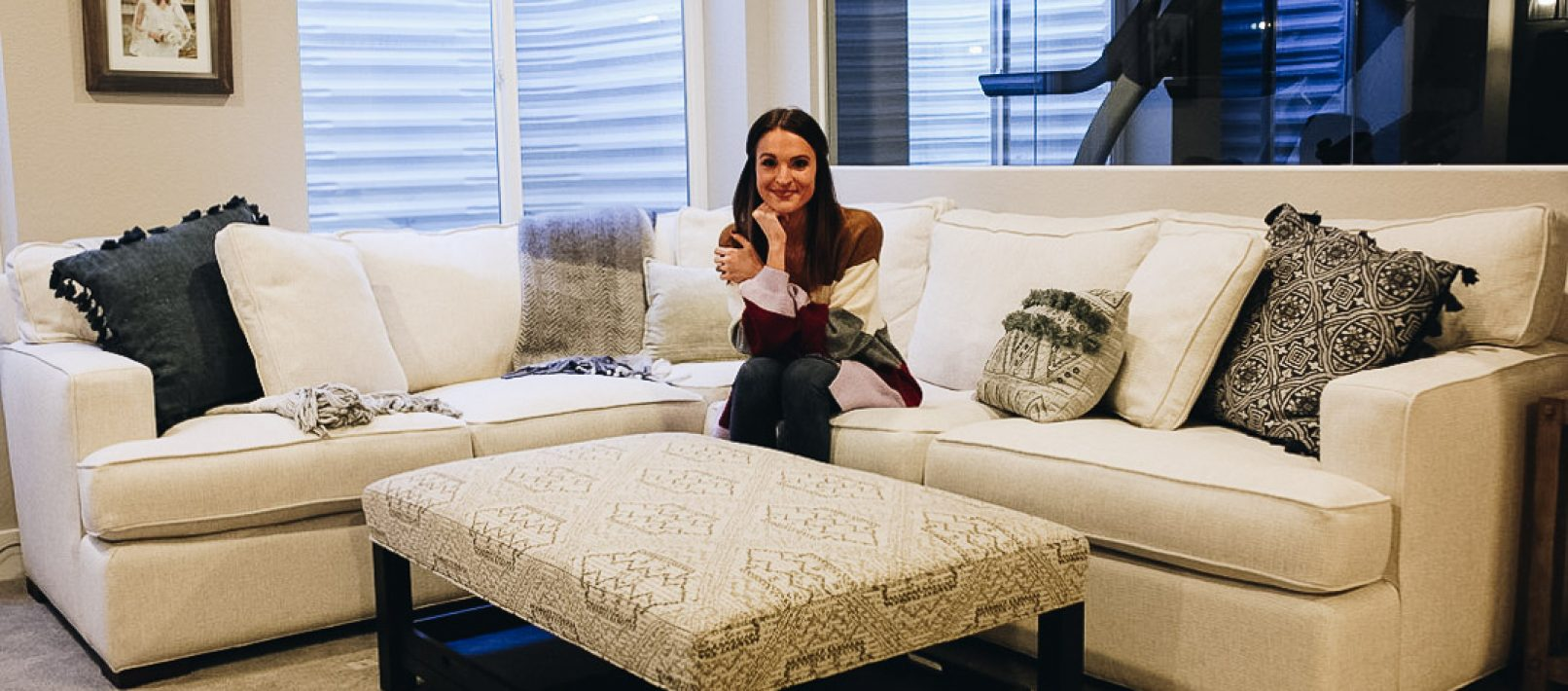 Arhaus Sectional Ottoman Review