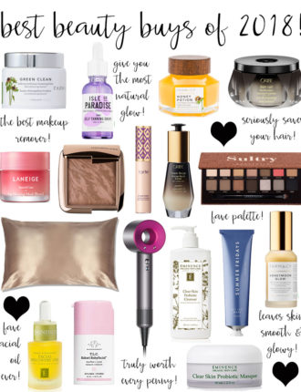 best beauty buys of 2018