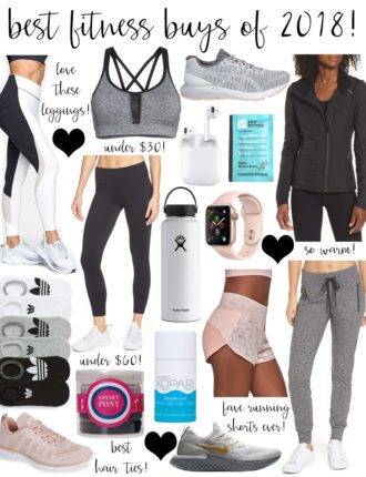 best of 2018: health + fitness purchases!