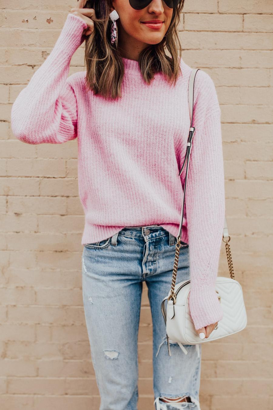 lauren sims everlane sweater