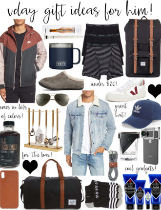 valentine's gift ideas for your man!