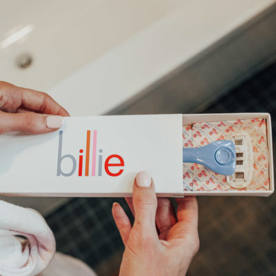wellness wednesday: why I started using the billie razor