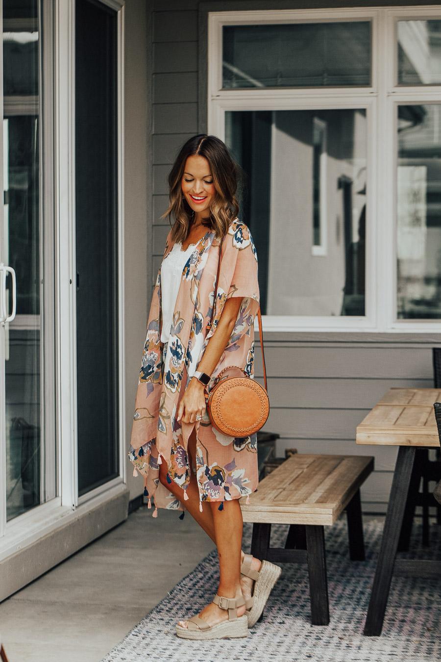 lauren sims spring kimono