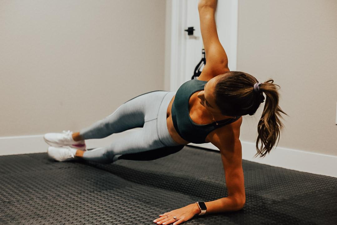 lauren sims HIIT workout