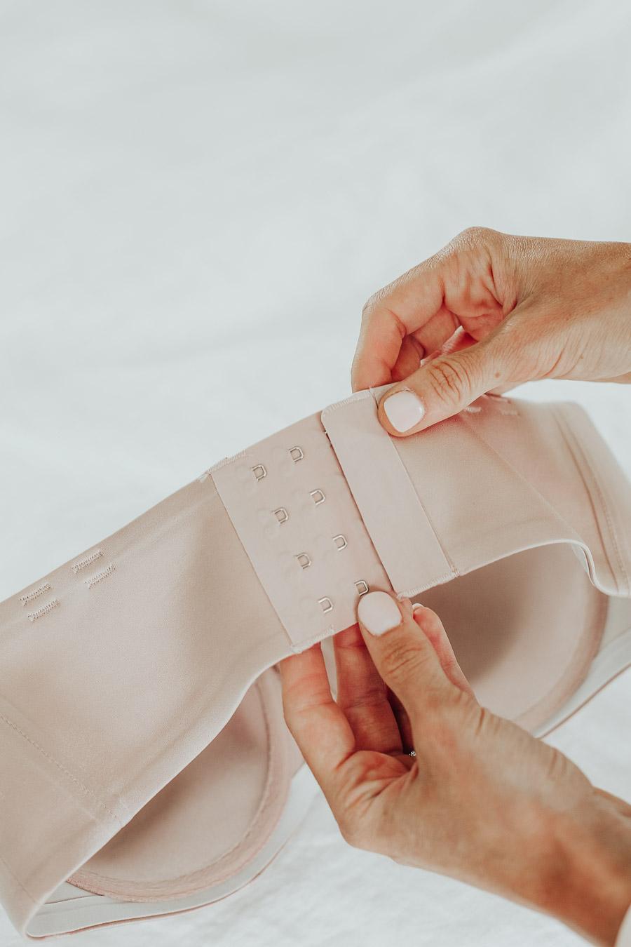 back clasps of most comfortable soma vanishing strapless bra