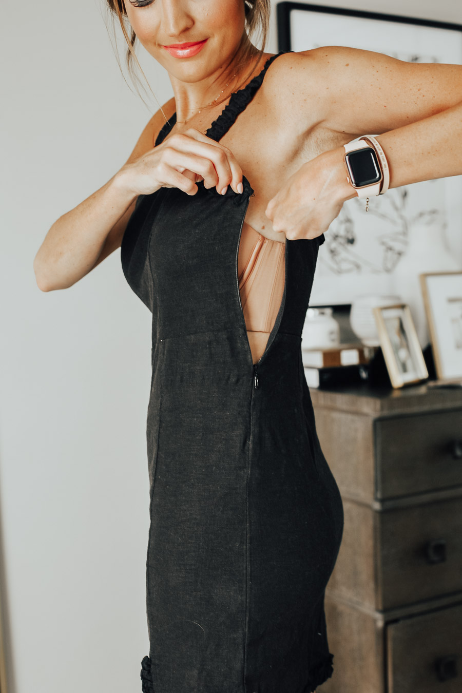 fastening dress over the best most comfortable strapless bra from soma intimates