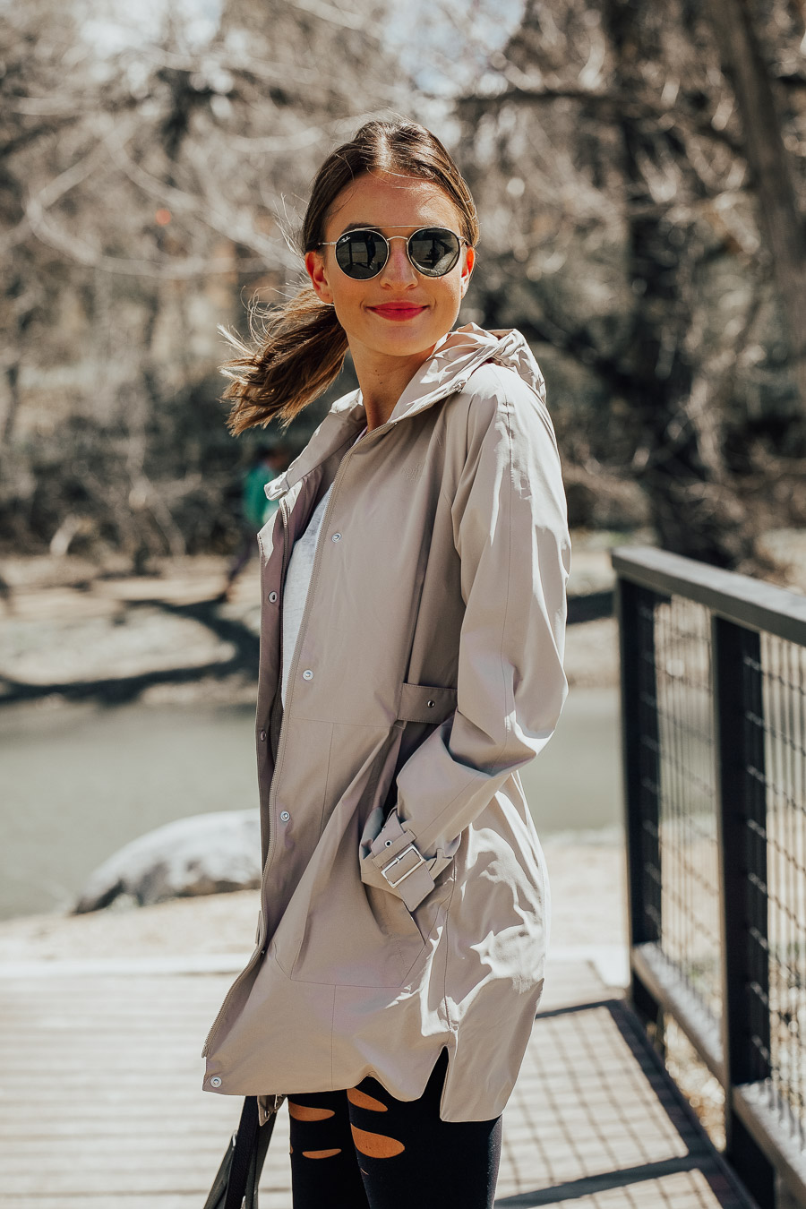 lauren sims the best rain jacket for women