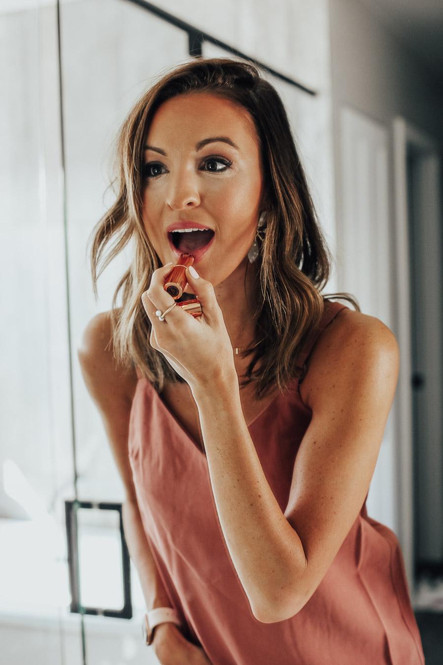 lauren sims makeup routine