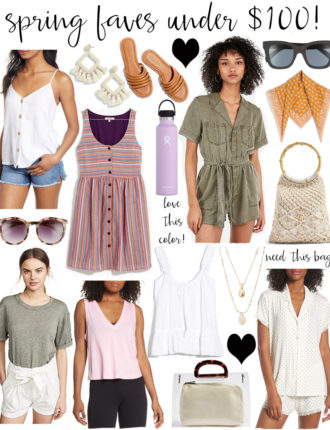 lauren sims spring faves under 100