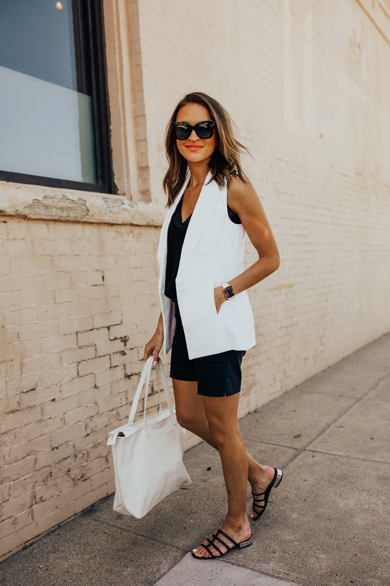lauren sims business casual outfit