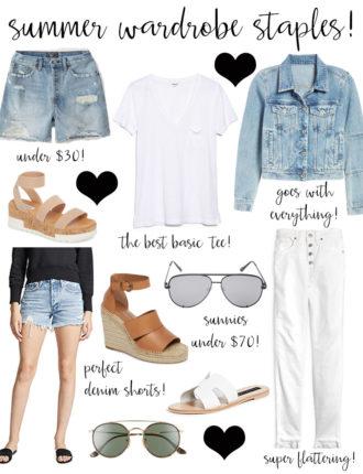summer wardrobe staples!