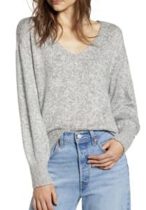 nordstrom anniversary sale 2019 BP everyday vneck sweater