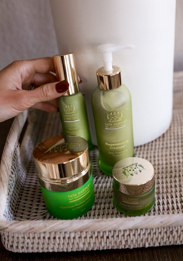 4 skincare products
